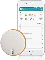 Беспроводной гигрометр RELSIB WH52, Bluetooth 4.0