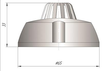 Датчик температуры для систем HVAC типа Кл3-2